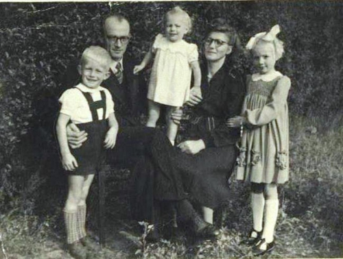 Fam. A. van Oorsouw 1949