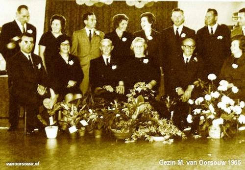 Gezin M. van Oorsouw 1965
