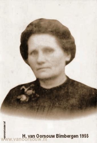 Lena van Oorsouw-Bimbergen 1955