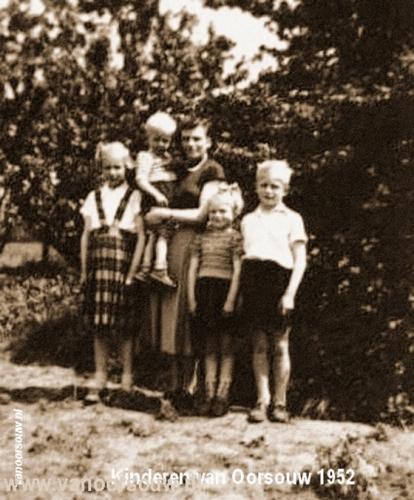 Kinderen van Oorsouw 1952