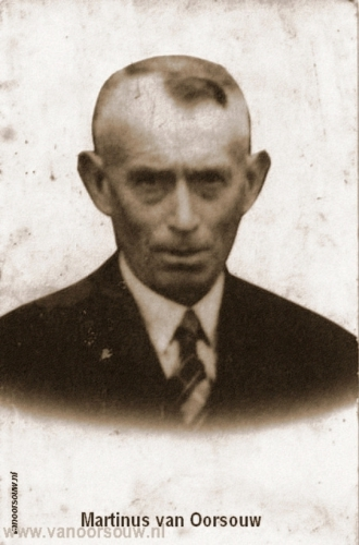 Martinus van Oorsouw 1955