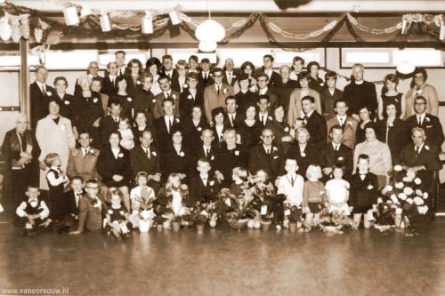 50 jarig huwelijksfeest fam. M. van Oorsouw 1965