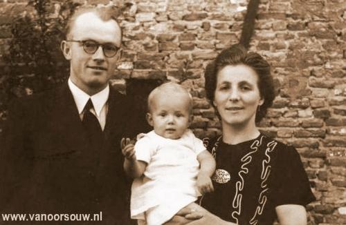 Familie A. van Oorsouw 1943