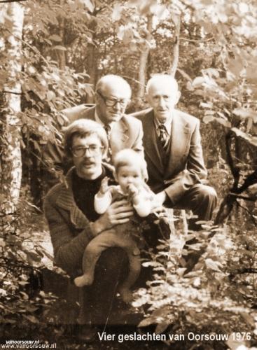 Vier geslachten van Oorsouw 1976